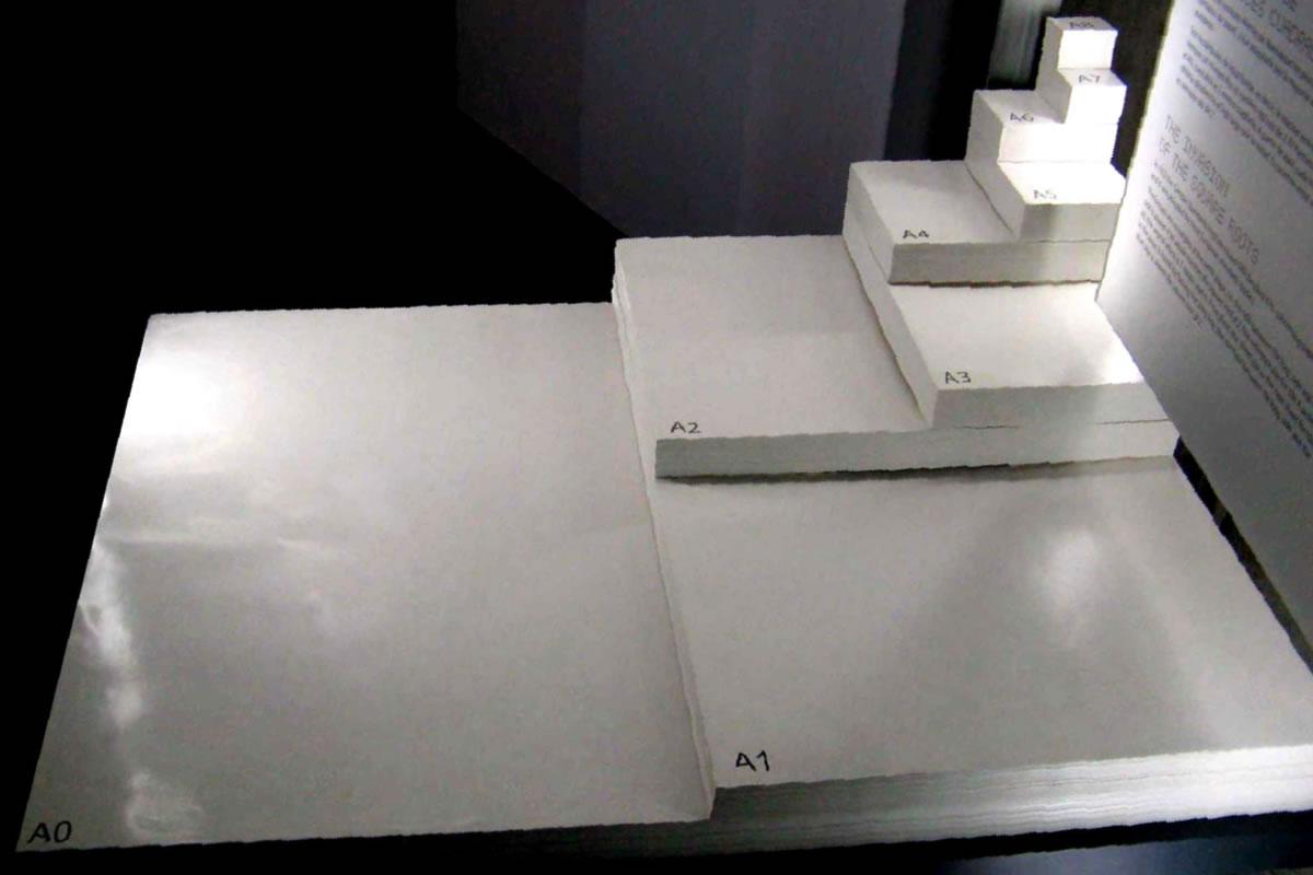 medidas estándares de papel
